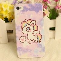 Coque iPhone 5 Licorne