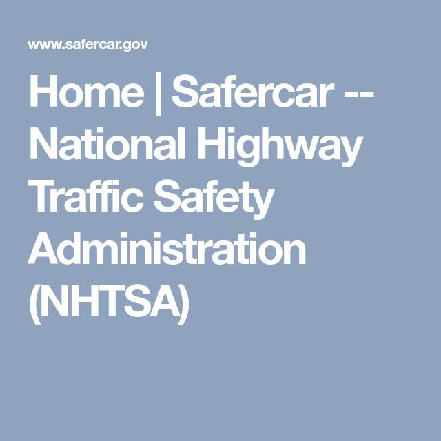 an introduction to the national highway traffic safety administration nhtsa The national highway traffic safety administration (nhtsa) collects limited information on crashes involving vehicles carrying unsecured loads but plans to make changes to collect better information.