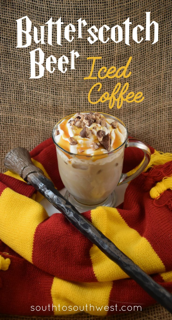 This Butterscotch Beer Iced Coffee is the perfect fall drink!  from South to Southwest Blog #FoundMyDelight #ad