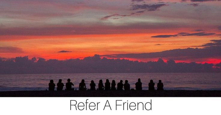 Earn Rewards - Vino Sunset. Refer a friend and get a % off your next order!!!
