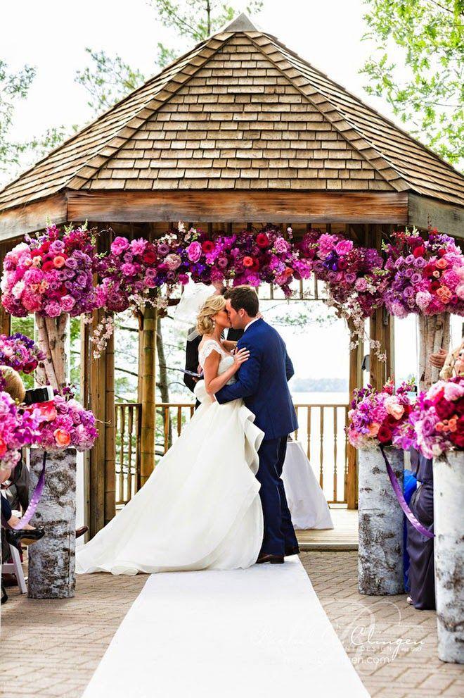14 Wedding Ceremonies That Will Take Your Breath Away ~  Rowell Photography, Event Design: Rachel A. Clingen | bellethemagazine.com
