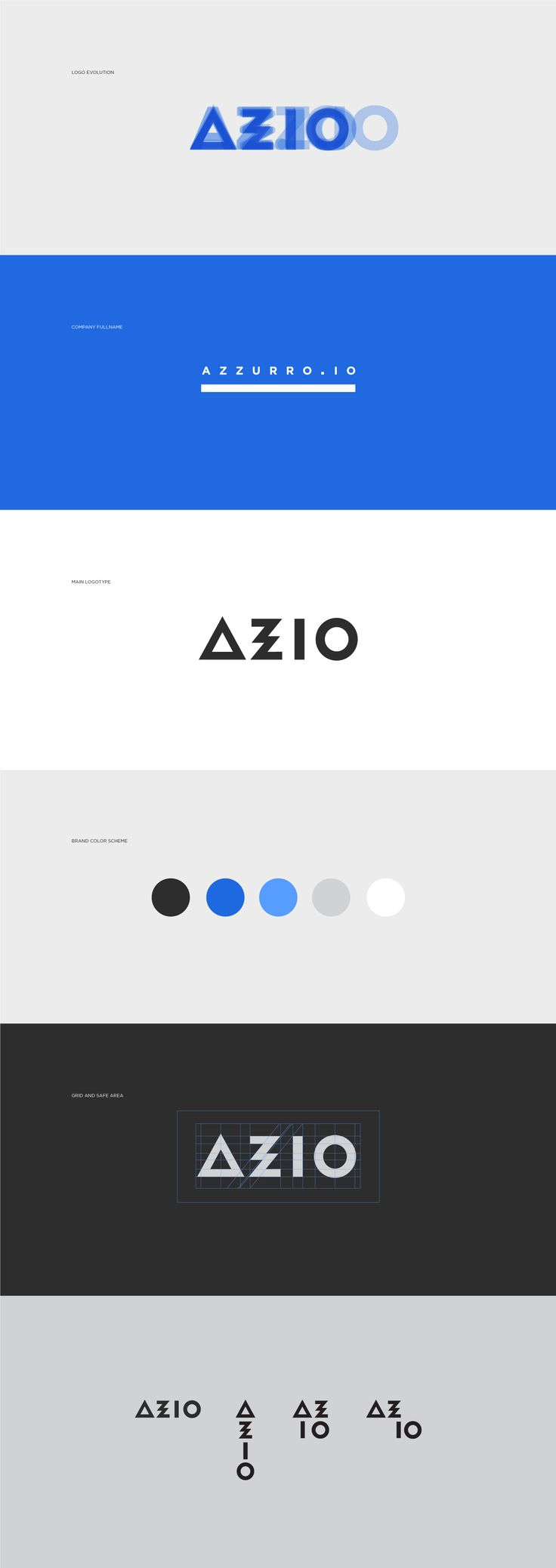 AZZURRO.IO on Behance