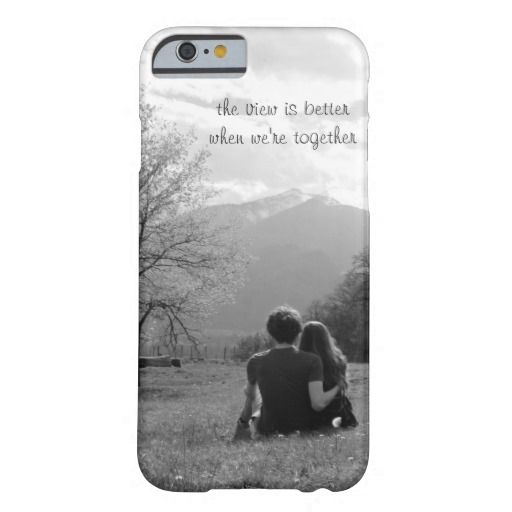 The View Is Better When We're Together iPhone Case