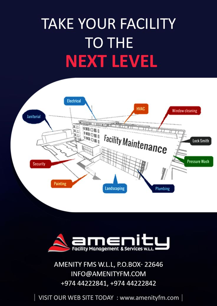 Pin by Amenity Facility Management & on Amenity Facility