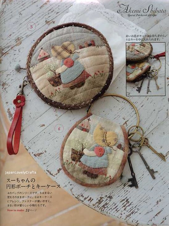 Bags and Purses Chic & Kawaii Patchwork by JapanLovelyCrafts