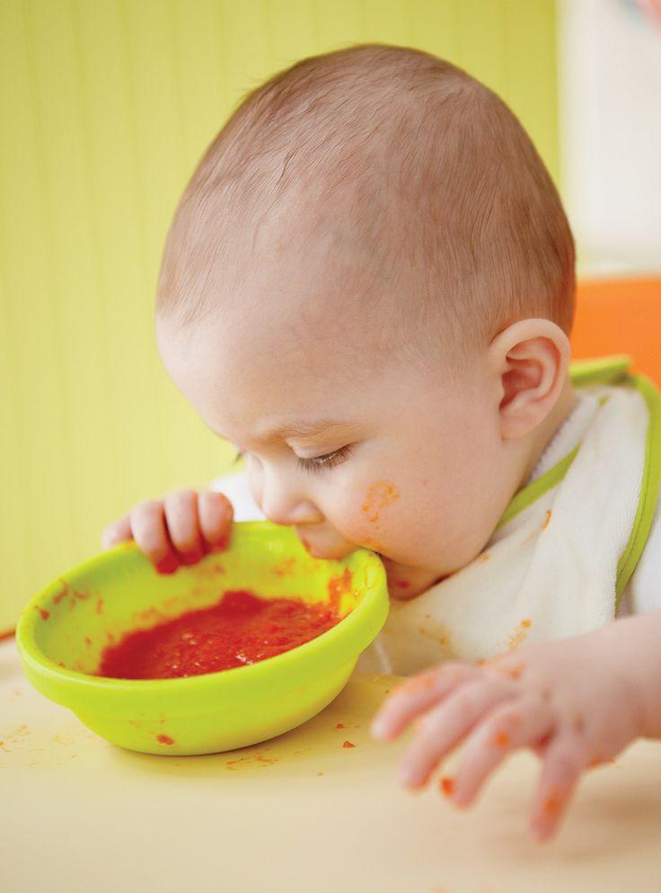 Recette de Ricardo : Purée de poivrons rouges (pour bébé)