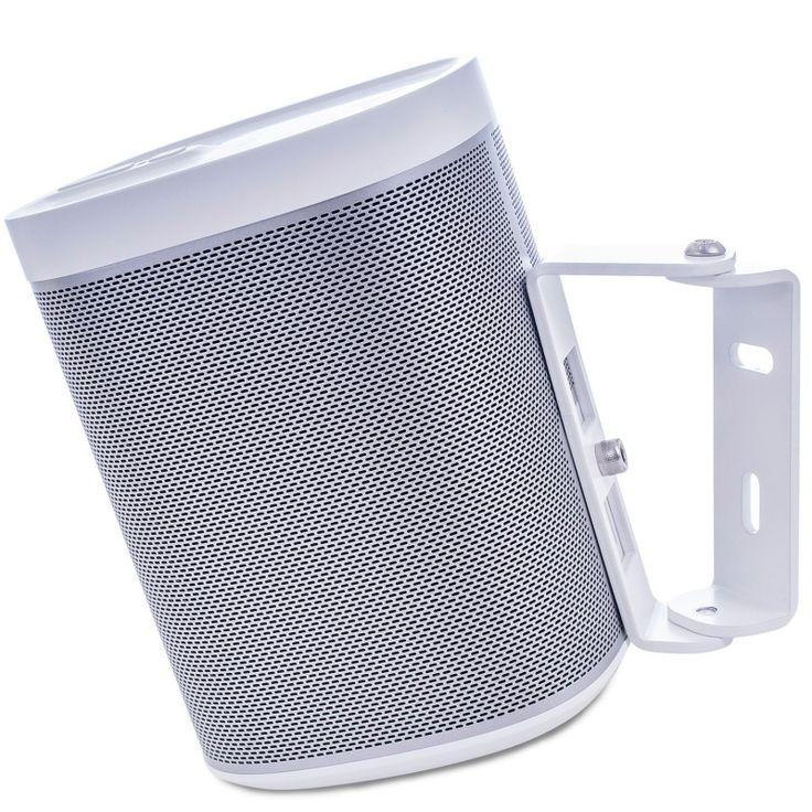 Wall bracket Sonos Play 1 white 15 degrees. $19 #wallmount #sonos #play1
