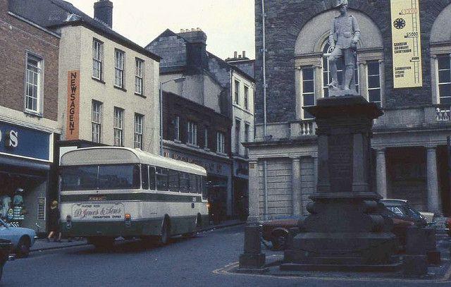 Guildhall Square, Carmarthen, 1977