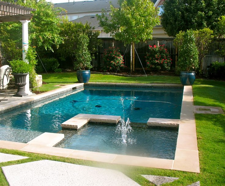 beautiful backyard pool for the home pinterest. Black Bedroom Furniture Sets. Home Design Ideas