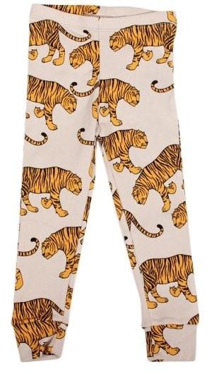 Mini Rodini Kids Organic Tiger Print Leggings
