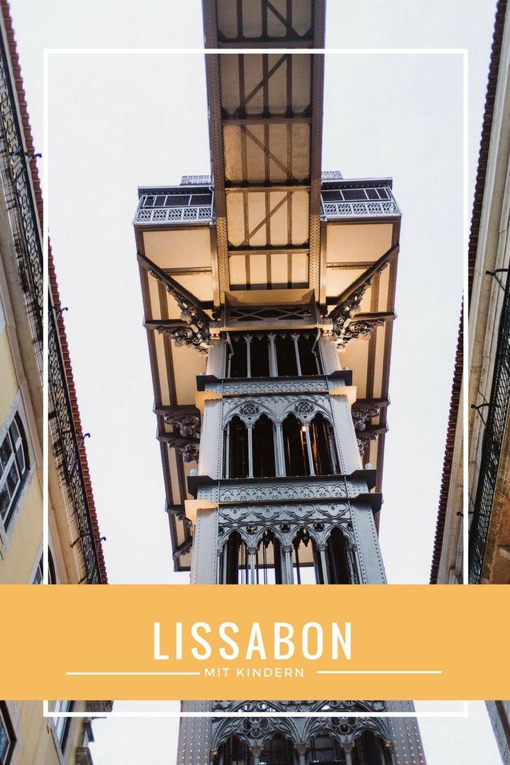 Eine Woche in Lissabon mit drei Teenie-Girls und einem Kleinkind.