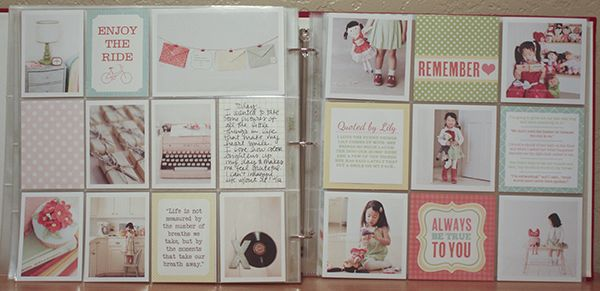 project life layoutCharlaanne, Project Life Layouts, Life Ideas, Life Spreads, Projects Life