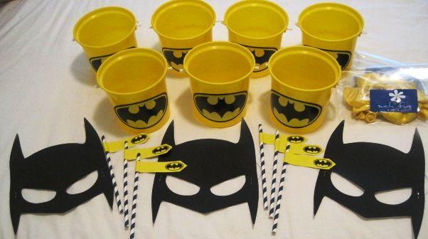 Batman Party Supplies made by Such Fun www.suchfun.co.za