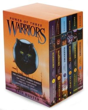 Warriors Series 3 By Erin Hunter.  Love