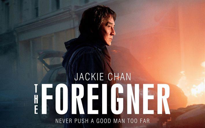 Download imagens O Estrangeiro, 4k, cartaz, 2017 filmes, Jackie Chan
