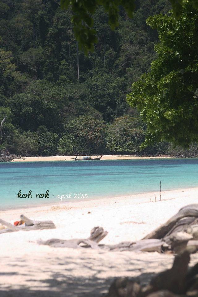 Amazing Koh Rok (Rok Island) Koh Lanta Krabi - white sand beach