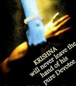 Krishna will never leave the hand of his devotees