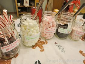 Frugal Foodie Mama: A No Fuss Hot Cocoa Bar Party