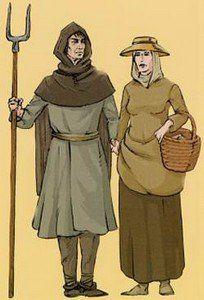 Les vêtements du Moyen-Age : De 476 au 15ème siècle
