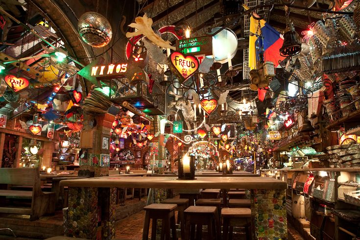 Andres DC, Colombia a place full of colour great food amazing drinks and great party