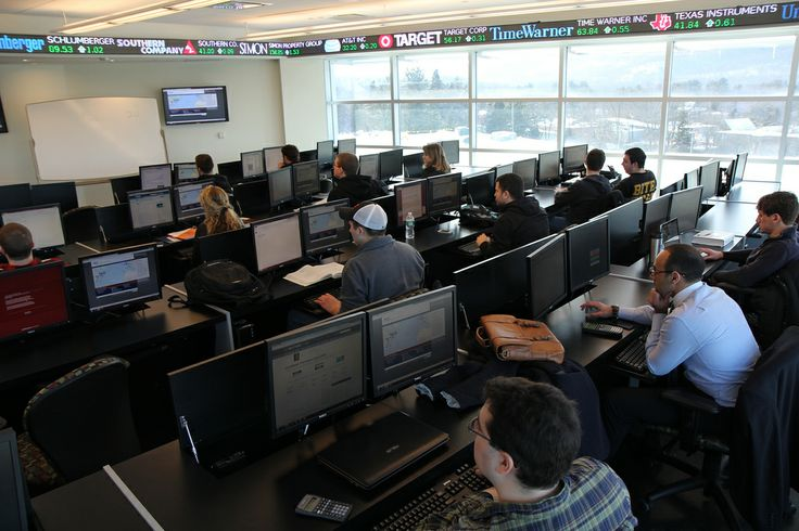 Global Financial Markets Trading Lab at the Anisfield School of Business (ASB) at Ramapo College