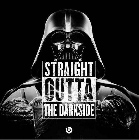 Darth Vader is straight outta the Dark Side