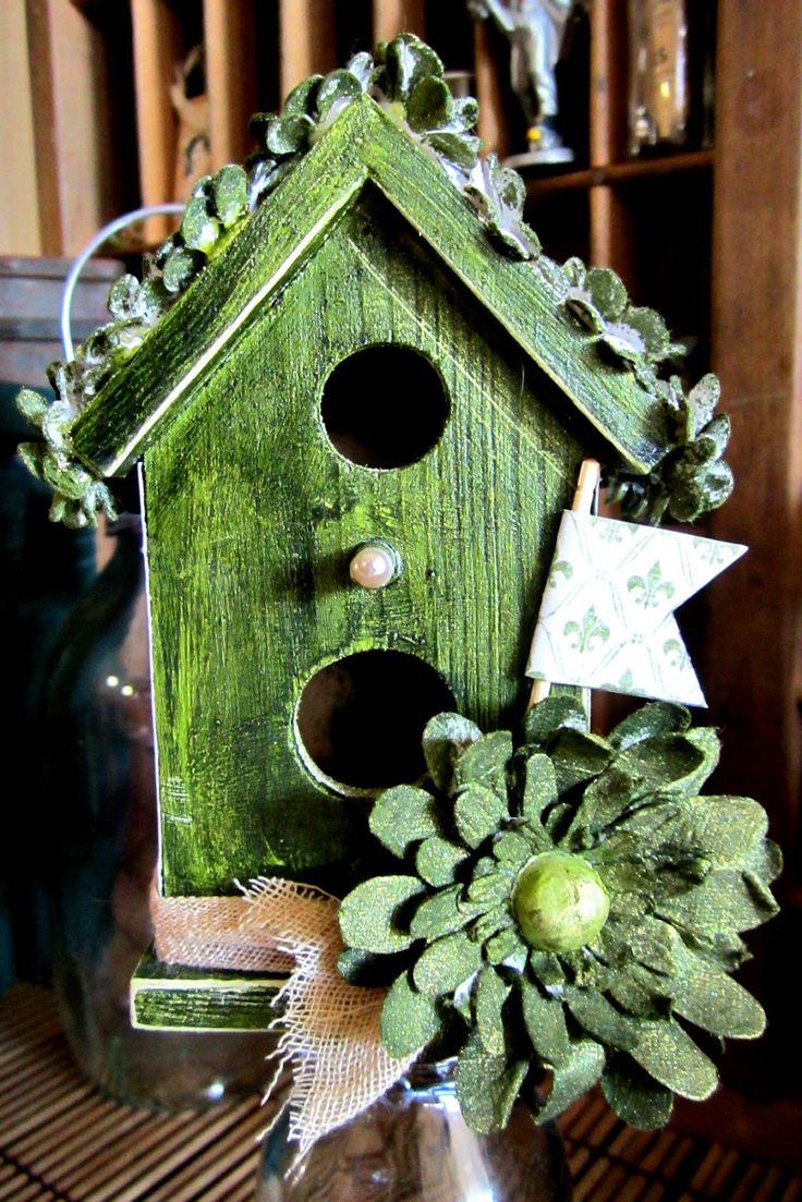 Craft Concepts Wooden Bird House
