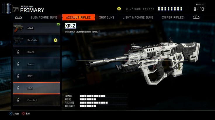 Call of Duty: Black Ops 3 Beta - All Weapons, Attachments, Perks ...