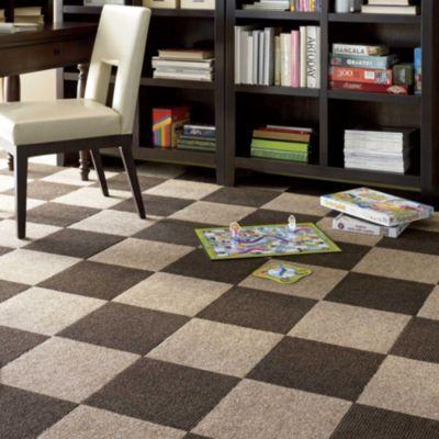 If carpet is a must...  best cost 160 sq ft for $150!!! Peel & Stick Carpet Tiles-Residential Carpet Squares-Berber Carpet