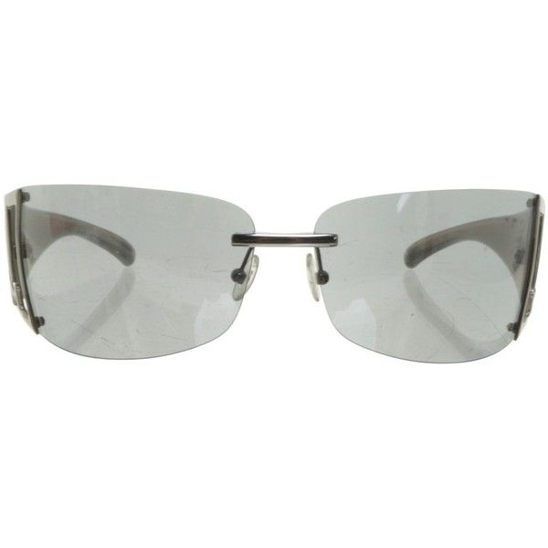Pre-owned Light grey sunglasses ($68) ❤ liked on Polyvore featuring accessories, eyewear, sunglasses, grey, missoni sunglasses, transparent glasses, see through sunglasses, transparent sunglasses and missoni