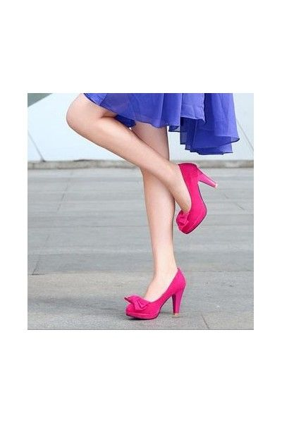 Escarpins Fushia Dauphine - PETITS SOULIERS - Chaussures femmes petites pointures
