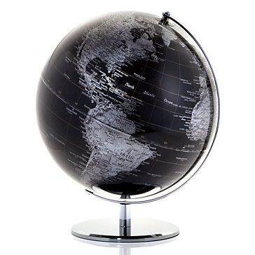 #ZGallerie. Oh, the places you'll go! Perfect for my little adventure room! You gotta have a map...GLOBE! haha