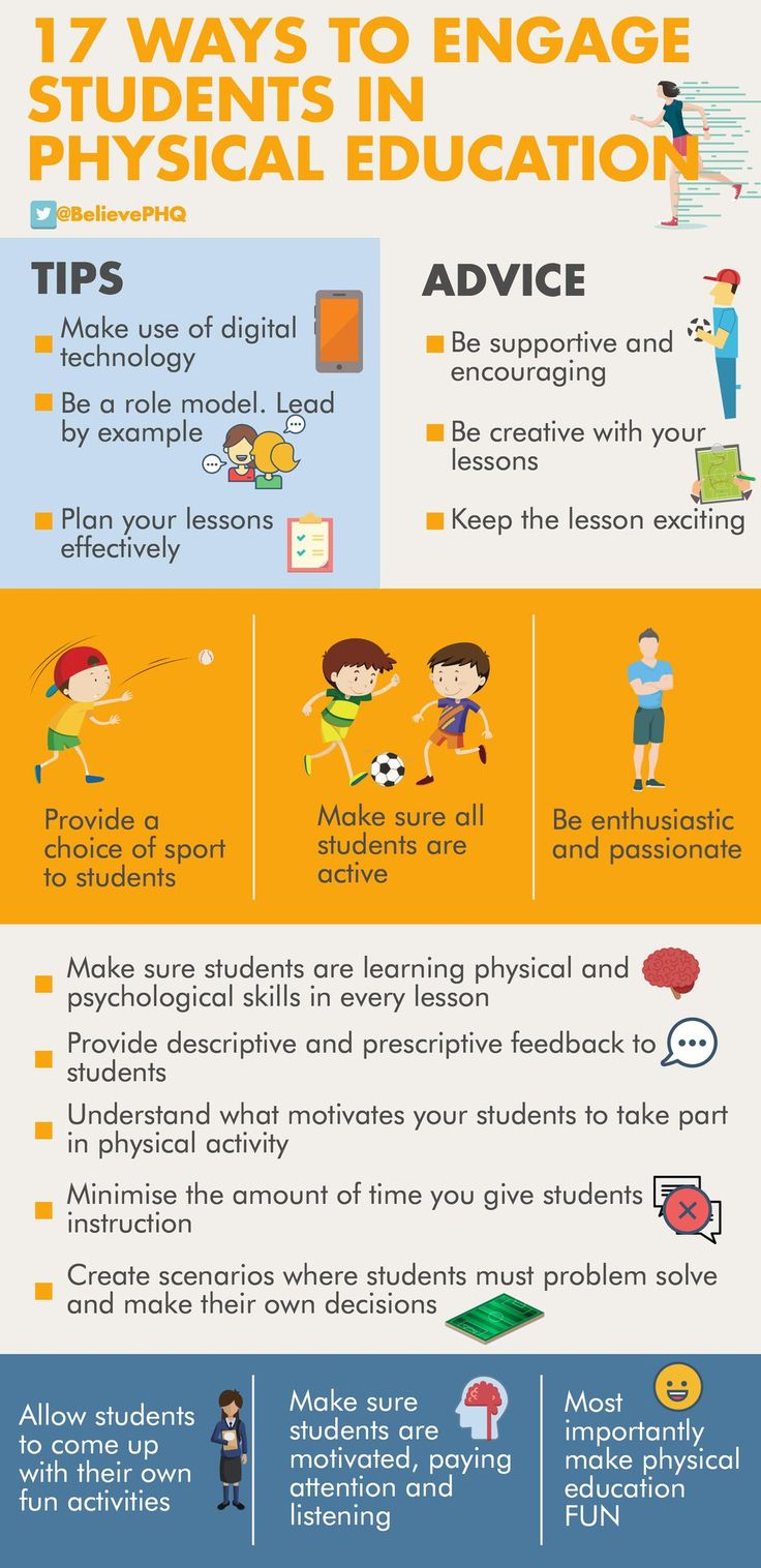 17 Ways To Engage Students In Physical Education #physed
