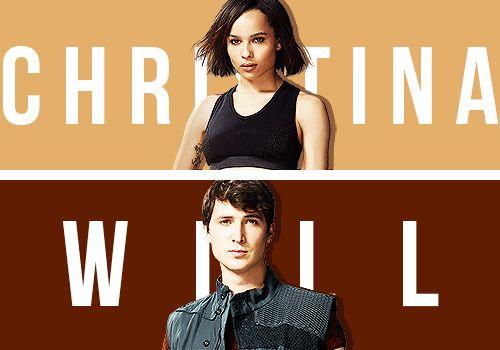 Christina and Will <4 ~Divergent~ ~Insurgent~ ~Allegiant~