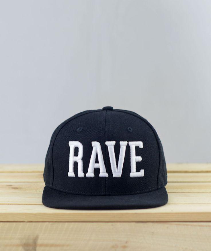 Rave Snapback #techno #rave #snapback #laut