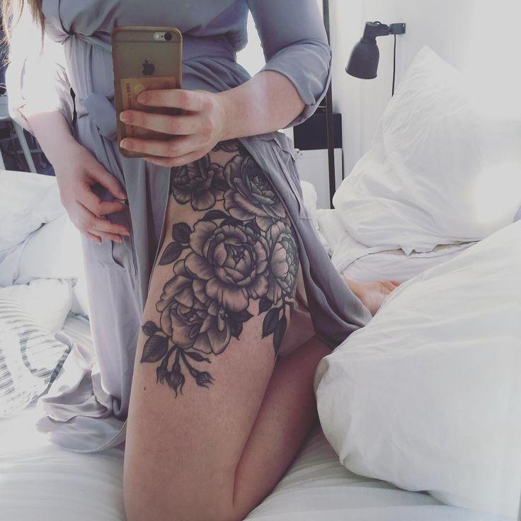 //7:15 pm// @emelyjette #tattoosforwomenonthigh