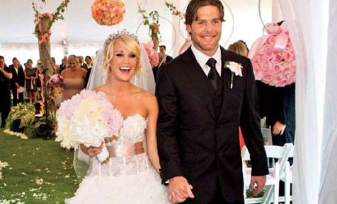 81 best images about celebrities weddings on pinterest for Who is carrie underwood married too