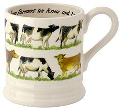 Emma Bridgewater Waitrose Milk 0.5 Pint Mug