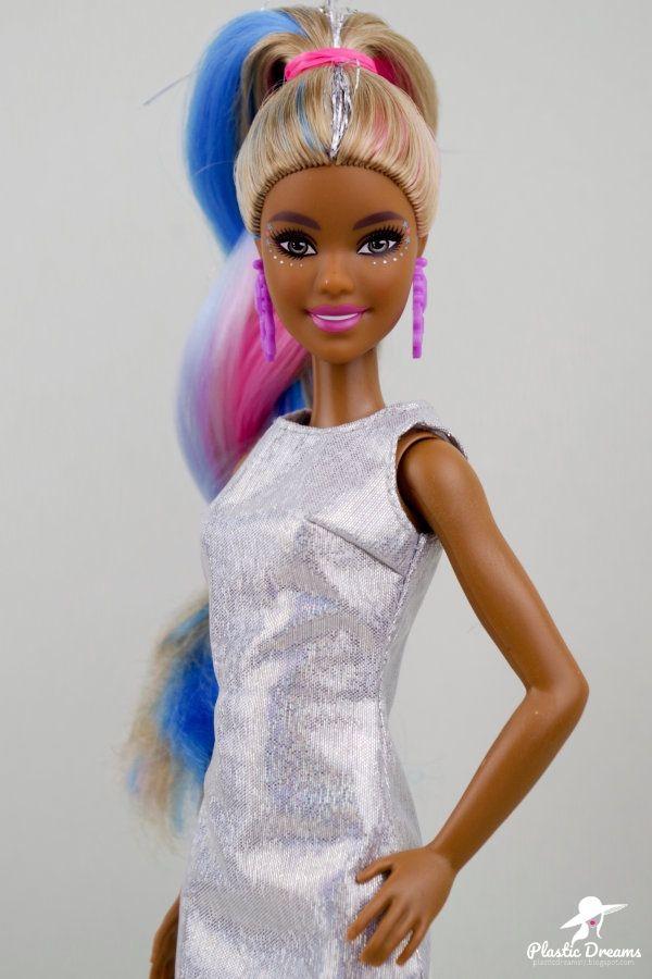 Fantasy Hair Barbie Doll Coiffure Fantaisie Accessoires De Poupee Barbie Poupees Barbie