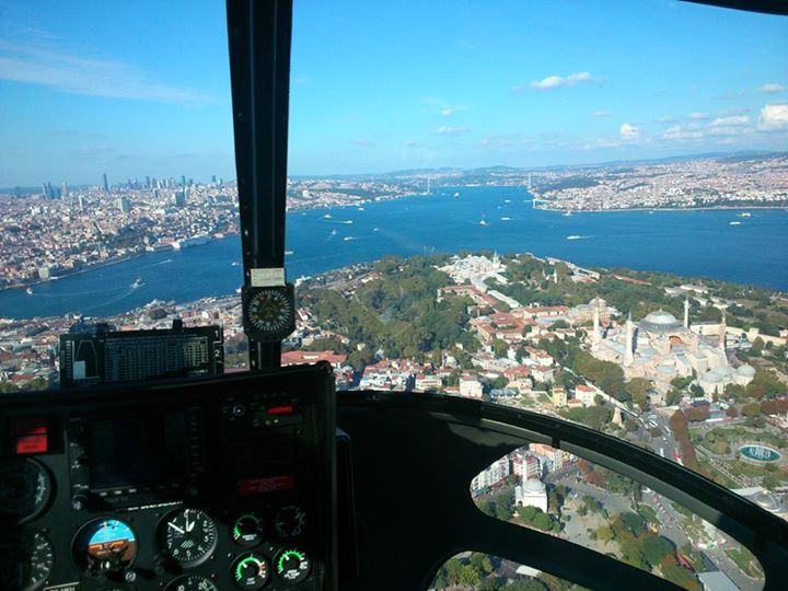 istanbul helicopter tour by tour guide ender boz