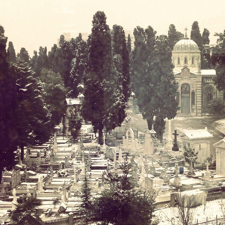 Sisli, Istanbul, Turkey cemetery
