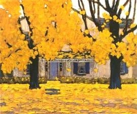 House in Autumn - Lawren Harris