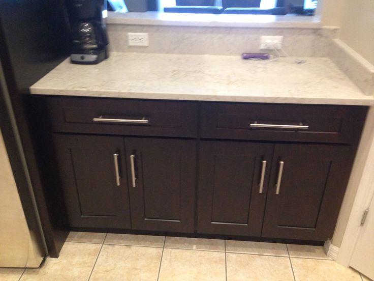 Embled Kitchen Cabinets | Base Embled Kitchen Cabinets Espresso Kitchen Design Ideas