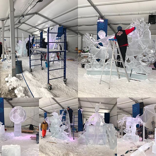 The various ice carvings from the international team competition at Winterlude. . . . . . #ottawa #canada #ontario #winter #myottawa #winterlude #ottcity #snow #613 #yow #igersottawa #ottawalife #ilovemywinterlude