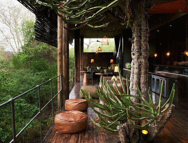 Singita Sweni South African Safari Lodge Style Interior DesignKruger