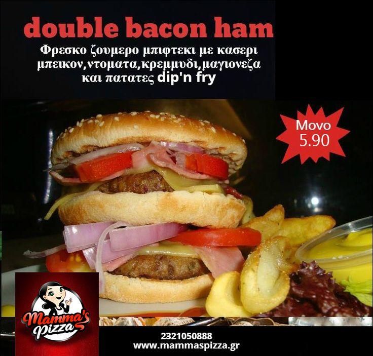 www.mammaspizza.gr #serres #mammasserres #burgers