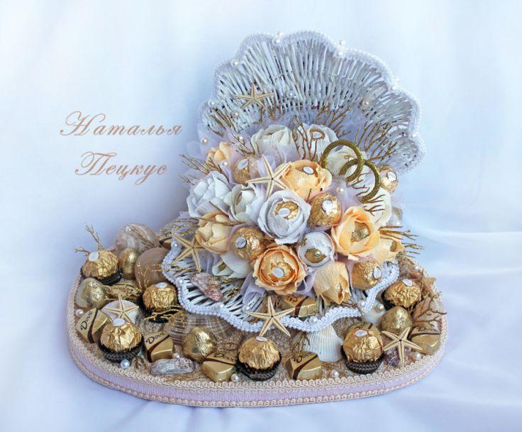 """Gallery.ru / Фото #16 - Букеты из конфет в Челябинске """"Свадьба и любовь"""" - natapetskus"""