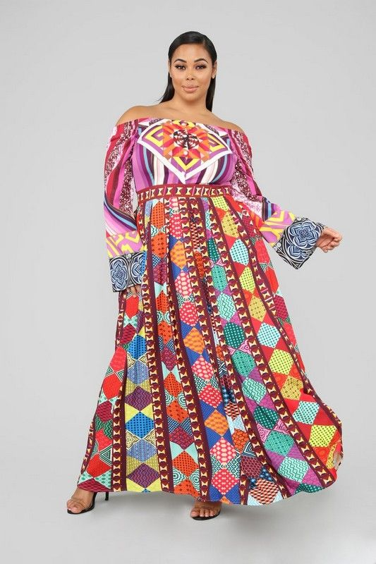 7c4b4f4ef64 Plus Size Kaleidoscope Dreams Maxi Dreams - Multi  69.99  fashion  ootd   outfits  accessories  clothes  designer  fashionable  plu…