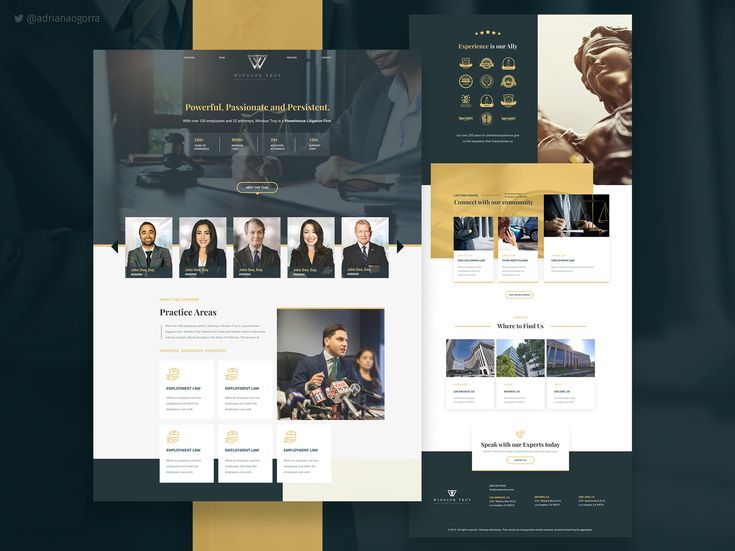 Website Prototype For A Law Firm In 2020 Law Firm Website Design Law Firm Law Firm Website
