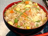Fried rice, use bacon in place of ham